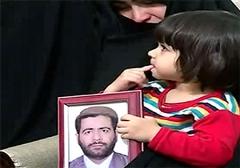 سوال دختر سه ساله شهید خزایی در روز تولدش اشک همگان را درآورد