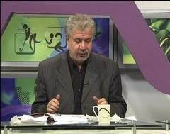 بغض مجری تلویزیون هنگام اعلام خبر درگذشت پدر استقلالی ها
