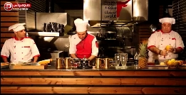 پایکوبی، حرکات موزون و آشپزی در پشت صحنه رستوران سرشناس تهران/ باحال ترین برنامه آموزش آشپزی ایران که حالتان را خوب می کند!/ آموزش فیله شیشلیک و آب گازدار با طعم میوه و سبزیجات/ شادپزباشی تقدیم می کند