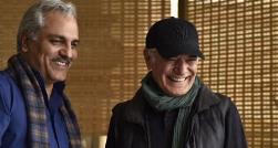 گفتگو با مهران مدیری در پشت صحنه فیلم سینمایی اش/ستاره کمدی ایران از ساعت پنج عصرش می گوید