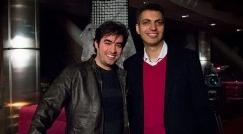 شهاب حسینی از زیدان، رونالدو و حضور خانم ها در ورزشگاه های فوتبال گفت/عادل فردوسی پور روبروی سوپراستار سینمای ایران