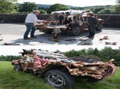 خودروی عجیب مجری مشهور جنجال بپا کرد