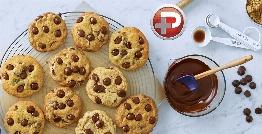 این کوکی های باحال هم مناسب صبحانه هستند و هم عصرانه؛ آموزش تهیه کوکی شکلاتی، با ترفندهای درگوشی