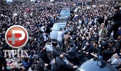 ویدیویی از آخرین وداع میلیون ها نفر با مردی که 59 سال خدمت کرد/گزارش مراسم تشییع و خاکسپاری آیت الله هاشمی رفسنجانی از تهران تا حرم امام(ره)/اختصاصی تی وی پلاس