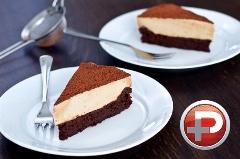 پیشنهادی  ویژه برای پذیرایی از مهمان؛آموزش تهیه کیک شکلاتی با موس قهوه