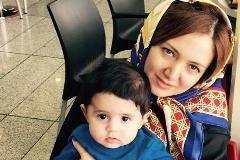 حمید عسکری، خواننده سرشناس، از چهره همسرش رونمایی کرد!