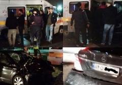 تصادف شدید خواننده معروف در بزرگراه اشرفی اصفهانی + عکس
