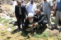 واکنش هاشمی به مسئول تشریفات سعودی در باغ فدک/ این آب باغ حضرت زهراست