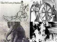 تصاویری از وحشیانه ترین اعدام های دنیا؛ از کندن پوست و نمک پاشیدن روی گوشت بدن تا زنده زنده آتش زدن