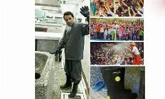 مجری تلویزیون ایران در غسالخانه/خان عموی دوست داشتنی بچه ها بدن کودکان فوت شده را شست و شو می دهد/رادیوپلاس