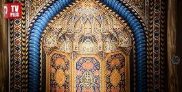 بزرگترین تاجران ایران، نفیس ترین فرش هایشان را به نمایش گذاشتند/ویدیوی از نمایشگاه فرش فوق لاکچری تیمچه در خیابان فرشته تهران