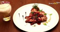 استیک مرغ اسپانیایی به پیشنهاد سرآشپز کافه هوکاجی/ مواظب باشید بعد از دیدن این ویدیو غش نکنید!