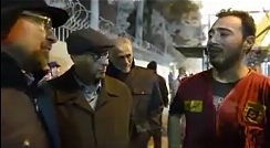 درد و دل و گریه های یک آتش نشان در حضور قالیباف+فیلم