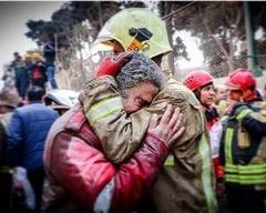 انیمیشنی زیبا و دردناک درباره فرو ریختن ساختمان پلاسکو و شهادت آتش نشانان با صدای محسن چاوشی