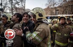 ویدیوکلیپ اختصاصی خواننده سرشناس برای مدافعان مردم/ویژه آتش نشان ها و حادثه ساختمان پلاسکو