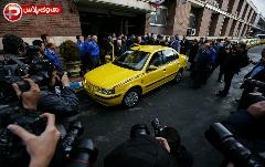 سورپرایز بزرگ ایران  خودرو برای رانندگان تاکسی + ویدیو