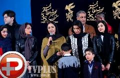 شوک زدگی بازیگران کمدی انسانی روی فرش قرمز/ لیلا زارع، هستی مهدوی و بهاره کیان افشار از متفاوت ترین فیلم سال جشنواره گفتند