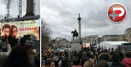 اصغر فرهادی و شهاب حسینی لندنی ها را میخکوب کردند/ بزرگترین اجتماع ایرانیان لندن به افتخار فروشنده و مرد اُسکار ایران/ اختصاصی لندن پلاس