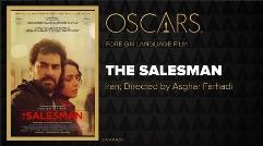لحظه اعلام نام اصغر فرهادى برای دریافت جایزه اسکار