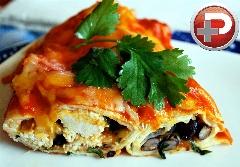 یک غذای عالی و سریع که طرفدارش می شوید/ پیراشکی مرغ و لوبیا