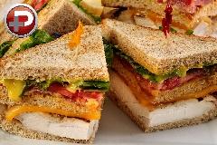 غذایی محبوب و پرطرفدار که بهترین گزینست برای بچه ها/ آموزش تهیه کلاب ساندویچ مرغ