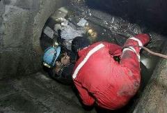 سقوط یک کودک به داخل کانال آب در مشهد + فیلم