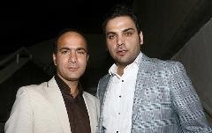 شوخی منشوری کمدین سرشناس با احسان علیخانی/حسن ریوندی با ستاره ماه عسل هم شوخی کرد