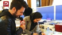 کل کل داغ طراحان زن و مرد در اولین روز مسابقه زنده طراحی لباس/حاشیه های جذاب ششمین جشنواره مد و لباس فجر از قاب تی وی پلاس