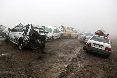 مقصر اصلی تصادف زنجیره ای مشهد مشخص شد
