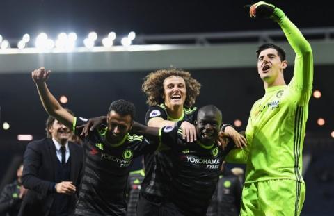 خلاصه بازی: وست برومویچ ۰-۱ چلسی/آبی ها قهرمان لیگ برتر انگلیس شدند