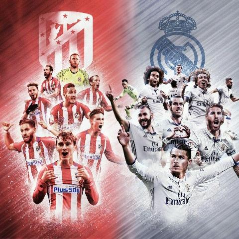 خلاصه بازی اتلتیکومادرید 2-1 رئال مادرید/در دومین فینال متوالی، زیدان حریف یوونتوس شد