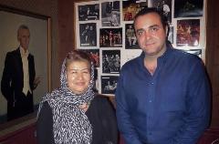 رونمایی پوران درخشنده از خواننده شهرزاد در زیر سقف دودی