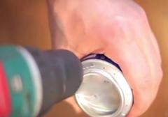 ساخت اجاق گاز کوچک تک نفره!/شما میتوانید با استفاده از قوطی نوشابه و مقداری الکل، یک اجاق گاز کوچک بسازید.