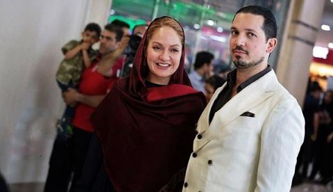 مهناز افشار و همسرش، فرش قرمز خیابان اکباتان را به وجد آوردند: لاستیک دور سرم در عاشقانه افتضاح بود/سکانس های رقص و بعضی صحنه هایمان سانسور شد/اکران خصوصی نهنگ عنبر سلکشن رویا در مگامال تهران