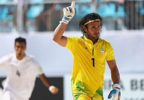 گل پیمان حسینی، برترین گل جام جهانی فوتبال ساحلی 2017