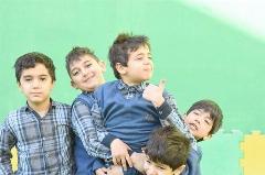 جشن قهرمانی پرسپولیس در مدرسه هانی نوروزی