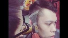خلاقیت خطرناک یک آرایشگر | کوتاهی مو با تبر!