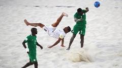 خلاصه فوتبال ساحلی نیجریه 4-4 ایران(پنالتی 1-2)/صعود ساحلي بازان به مرحله يك چهارم نهايي