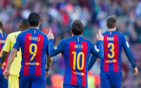 خلاصه بازی بارسلونا 4-1 ویارئال (درخشش MSN)