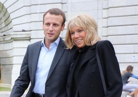 جوانترین رییس جمهور تاریخ فرانسه؛ همسرش مادربزرگ 7 نوه است!