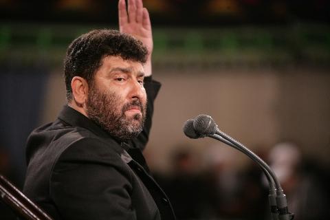 واکنش مداحان سرشناس حامی قالیباف به ابراهیم رئیسی در مراسم سعید حدادیان