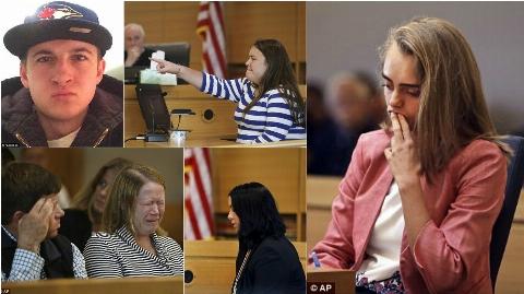 دختر 20 ساله به خاطر ترغیب دوست پسرش به خود کشی محاکمه شد