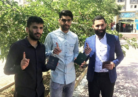 فحاشی و حمله به پرسپولیسی معروف در روز انتخابات!