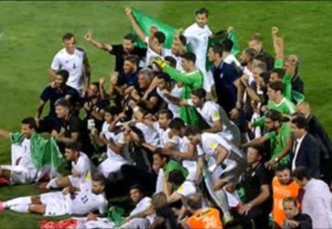 دور افتخار و شادی ملی پوشان پس از صعود به جام جهانی
