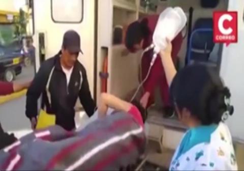 حمل ناشیانه دختر ۱۶ ساله باردار حین انتقال به بیمارستان!
