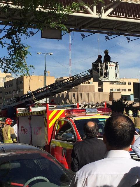 پشیمانی مرد تهرانی از خودکشی روی پل