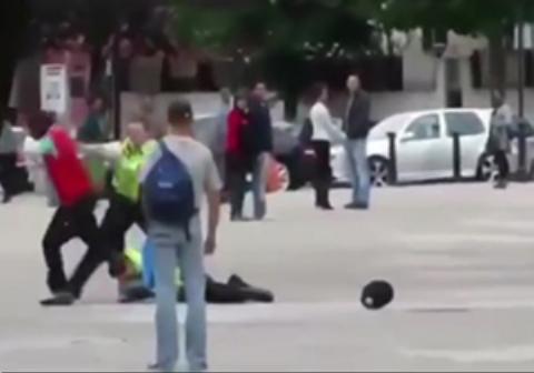 عجیبترین روش دستگیری یک مجرم توسط پلیسهای اروپایی!