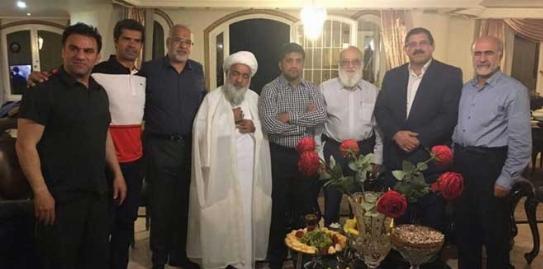 آشتی کنان علیرضا دبیر و عباس جدیدی در جلسه علنی امروز شورای شهر تهران