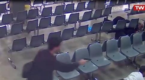 اولین ویدیوی منتشر شده از تصاویر دوربینهای مداربسته مجلس از حادثه تروریستی دیروز