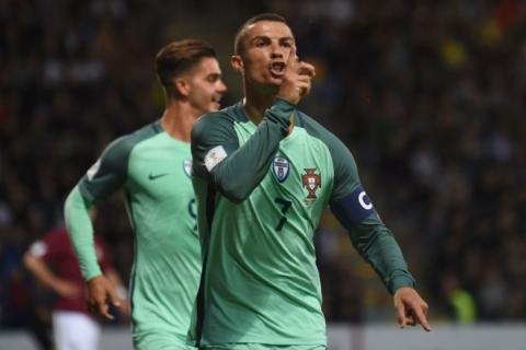 لتونی ۰ - ۳ پرتغال؛ نزدیک تر به جام جهانی با درخشش رونالدو